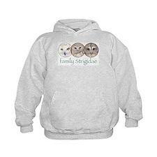 OWLS art, family Strigidae  Hoodie