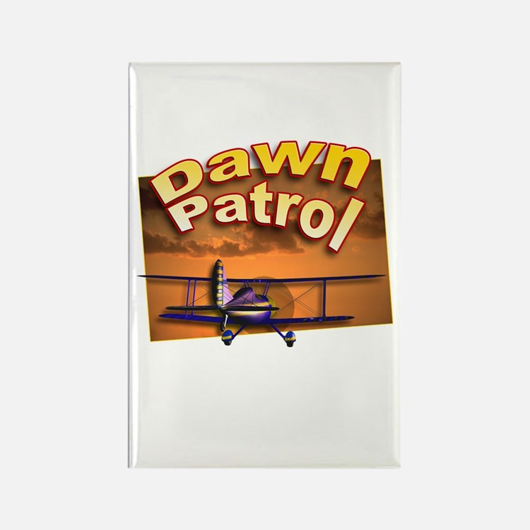 Dawn Patrol Aviation Rectangle Magnet
