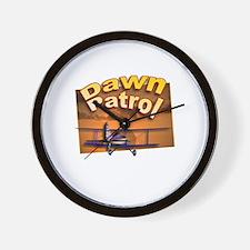 Dawn Patrol Aviation Wall Clock