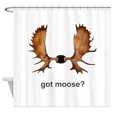 got moose? Shower Curtain