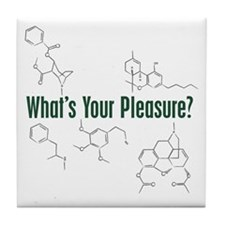 Your Pleasure Tile Coaster