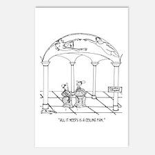 Sistine Chapel Needs a Ceiling Fan Postcards (Pack