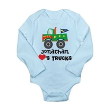 Personalized Truck Lover Body Suit
