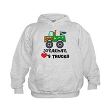 Personalized Truck Lover Hoodie