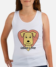 Golden Retriever Lover Women's Tank Top