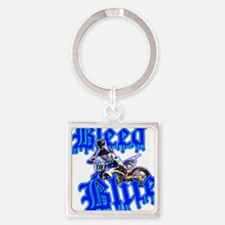 Bleed Blue 3 Keychains