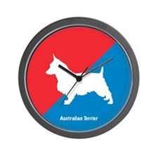 Terrier Diagonal Wall Clock