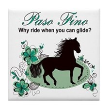 Unique Paso fino horse Tile Coaster