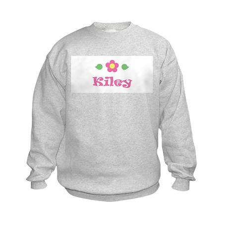 "Pink Daisy - ""Kiley"" Kids Sweatshirt"
