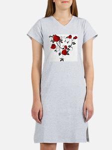 Red Rose Women's Nightshirt