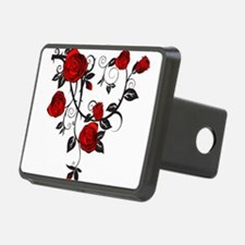 Red Rose Hitch Cover