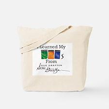 I Learned My ABCs Tote Bag