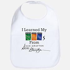 I Learned My ABCs Bib