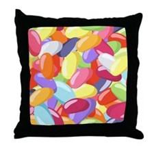 Jellybeans Throw Pillow