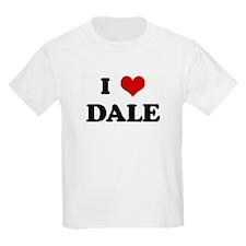 I Love DALE Kids T-Shirt