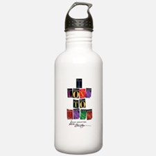 I Love To Read Sue Grafton Water Bottle