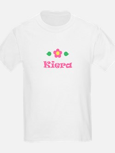 "Pink Daisy - ""Kiera"" Kids T-Shirt"