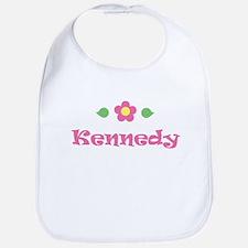 """Pink Daisy - """"Kennedy"""" Bib"""