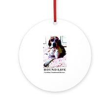 Hound Life Ornament (Round)