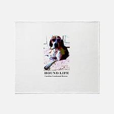 Hound Life Throw Blanket