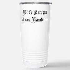 Baroque Pun Stainless Steel Travel Mug