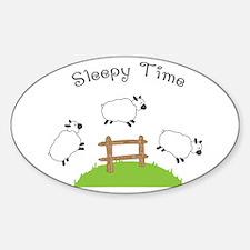 Sleepy Time Decal