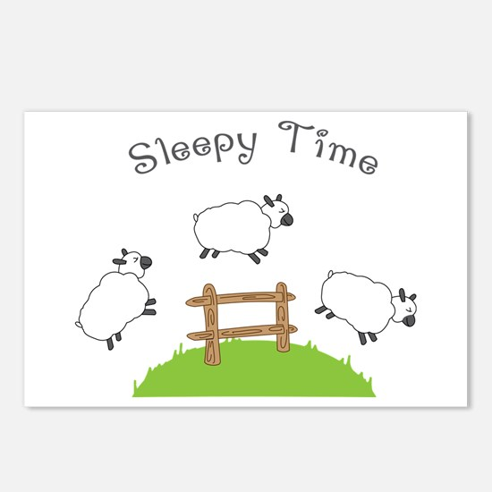 Sleepy Time Postcards (Package of 8)