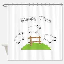 Sleepy Time Shower Curtain