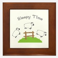 Sleepy Time Framed Tile