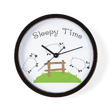 Sleepy Time Wall Clock