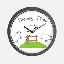 Sleepy Time Wall Clock