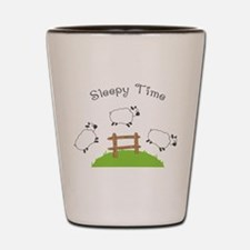 Sleepy Time Shot Glass