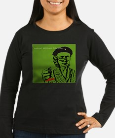 Guerilla Librarian Women's Long Sleeve Dk T-Shirt