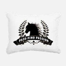 Funny Paso fino Rectangular Canvas Pillow