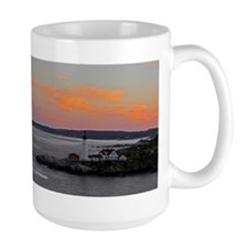 LIghthouse and Sunset Mug