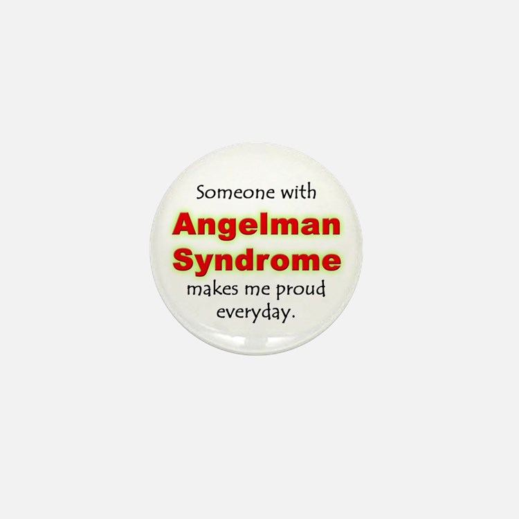 """Angelman Syndrome Pride"" Mini Button"