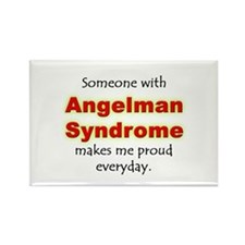 """""""Angelman Syndrome Pride"""" Rectangle Magnet"""