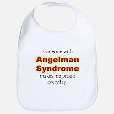 """Angelman Syndrome Pride"" Bib"
