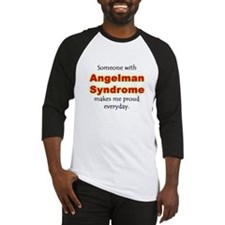 """Angelman Syndrome Pride"" Baseball Jersey"