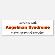 """Angelman Syndrome Pride"" Bumper Bumper Bumper Sticker"