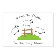 Time To Sleep Postcards (Package of 8)