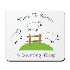 Time To Sleep Mousepad