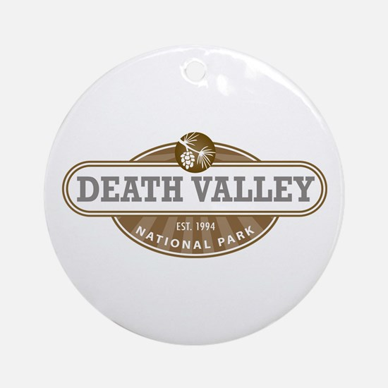 Death Valley National Park Ornament (Round)