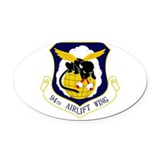 94th AW Oval Car Magnet