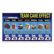 Cute Cake Decal
