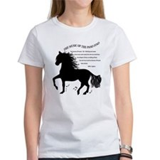The Music of the Paso Fino Tee