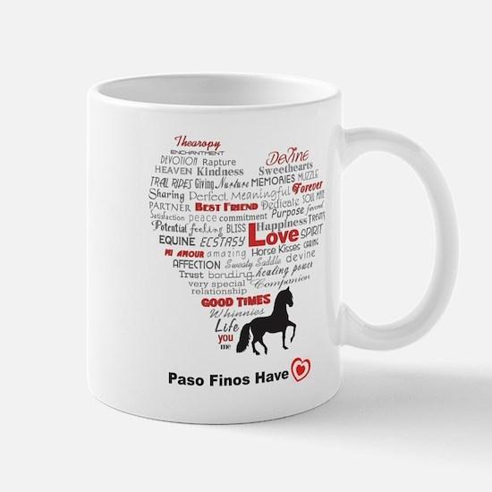 Paso Finos Have Heart Mug