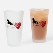 A Paso Fino Has Stolen My Heart Drinking Glass