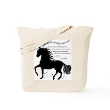 The Music of the Paso Fino Tote Bag