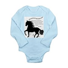 The Music of the Paso Fino Long Sleeve Infant Body